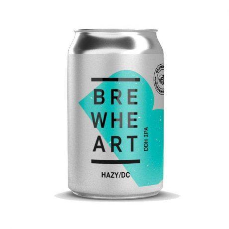 BrewHeart – Hazy/DC 7% DDH Hazy IPA