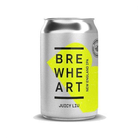 BrewHeart Juicy Liu Hazy IPA