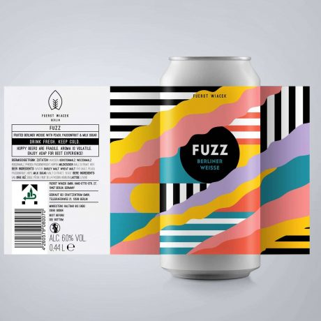 Fuerst Wiacek – Fuzz 6% (Fruited Berliner Weisse)