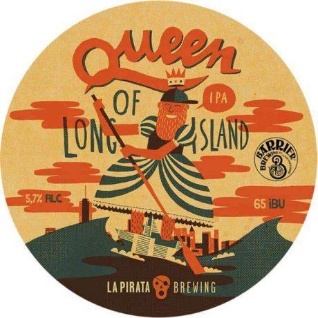 LA PIRATAQueen Of Long Island 440mlIPA