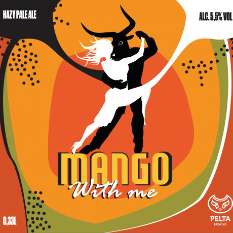 Pelta Brewing – Mango With Me 5,5% (Hazy Pale Ale)