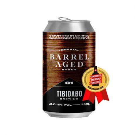 Tibidabo – Barrel 01 11% Barrel Aged Bourbon Imperial