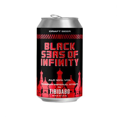 Tibidabo – Black Seas Of Infinity 10% Russian Imperial Stout