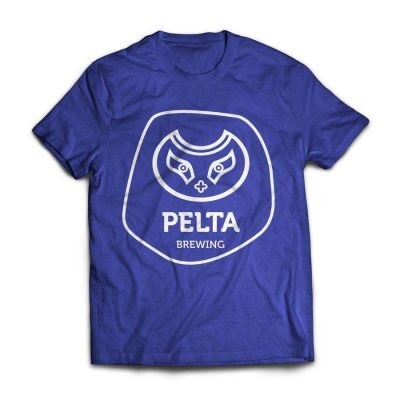 Pelta тениска синя