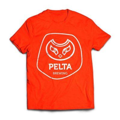 Pelta тениска червена