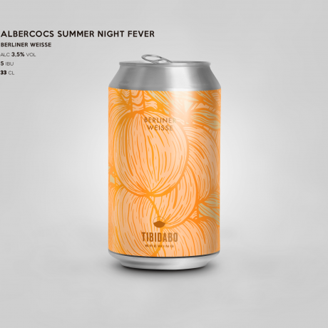 Albercocos Summer Nights Fever Berliner Weisse
