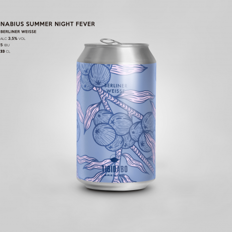 Nabius Summer Nights Fever Berliner Weisse w/ blackberries