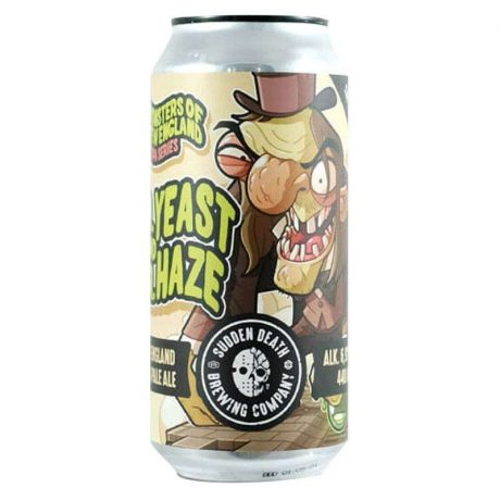 SUDDEN DEATHDr. Yeast And Mr. Haze 440ml