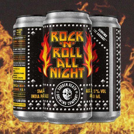 SUDDEN DEATHRock 'N' Roll All Night 440mlSmall IPA