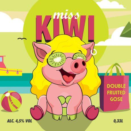 PELTA BREWING Miss Kiwi
