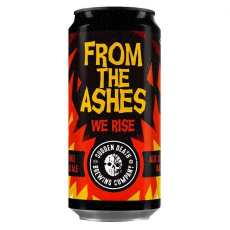 SUDDEN DEATHFrom The Ashes We Rise 440ml