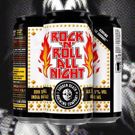 SUDDEN DEATHRock'n'Roll All Night (2021) 440ml